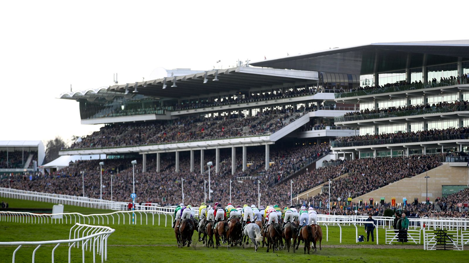Cheltenham ground eases after heavy