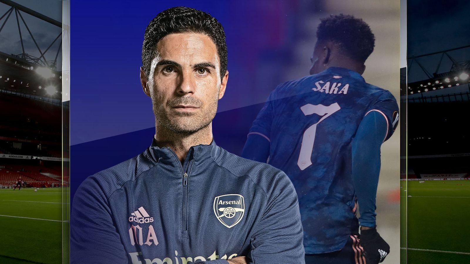 Arteta on Arsenal's youth revolution