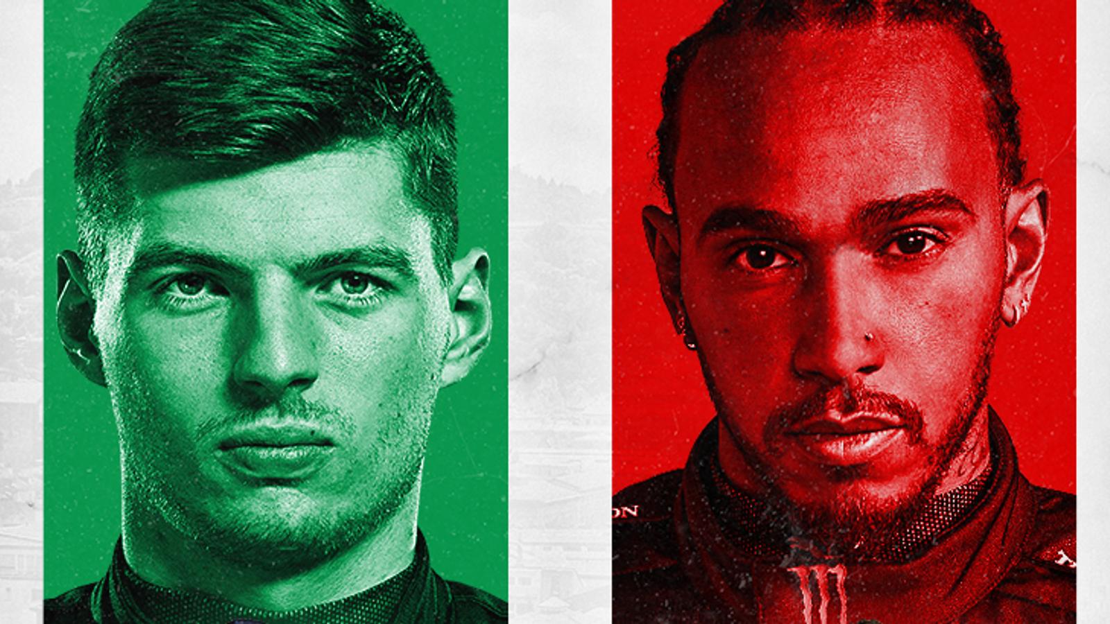 Hamilton vs Verstappen: Imola set