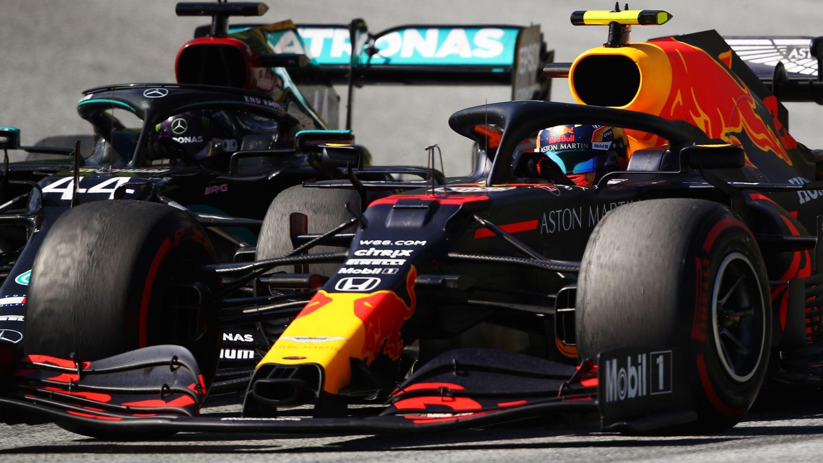 Hamilton on Albon crash: Racing