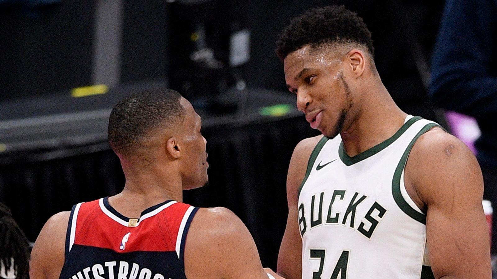 Giannis' Bucks hold off Westbrook