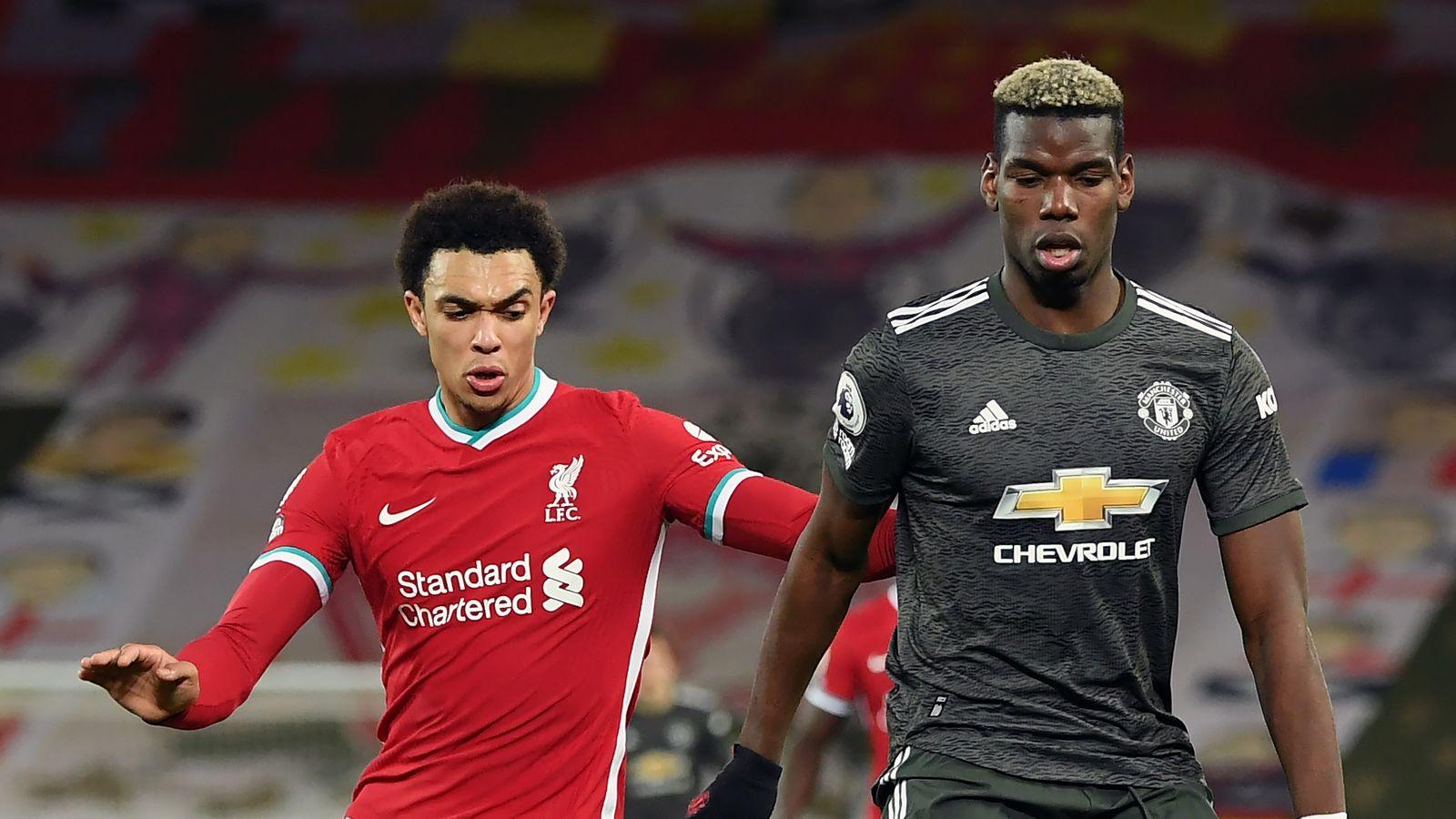Liverpool-Man Utd kit clash 'angers'