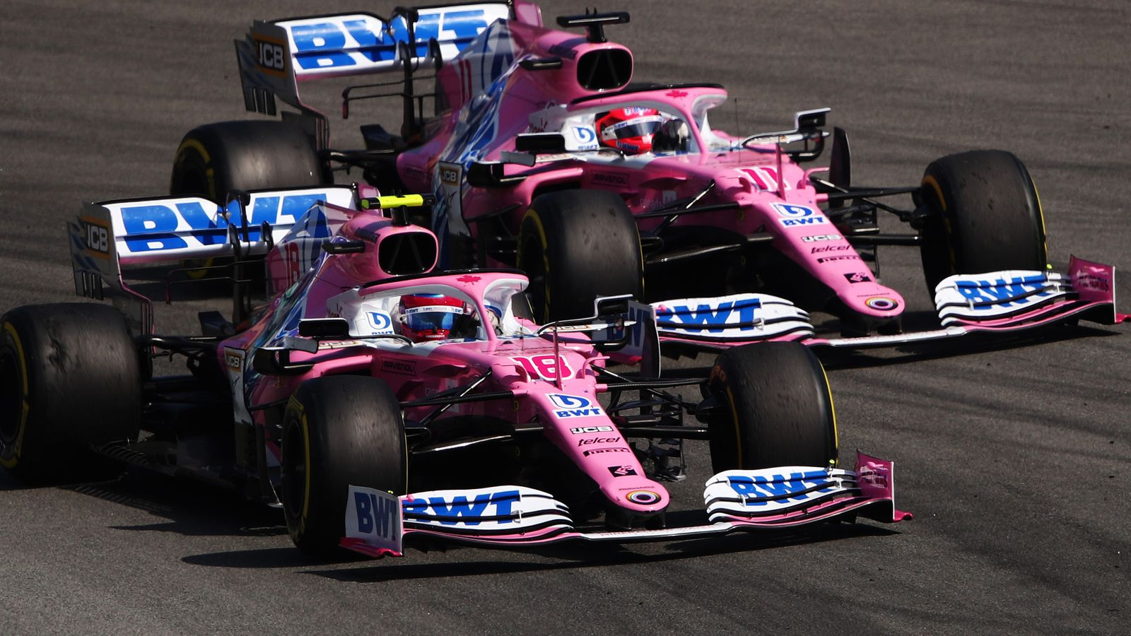 Perez defends Hamilton hold-up after