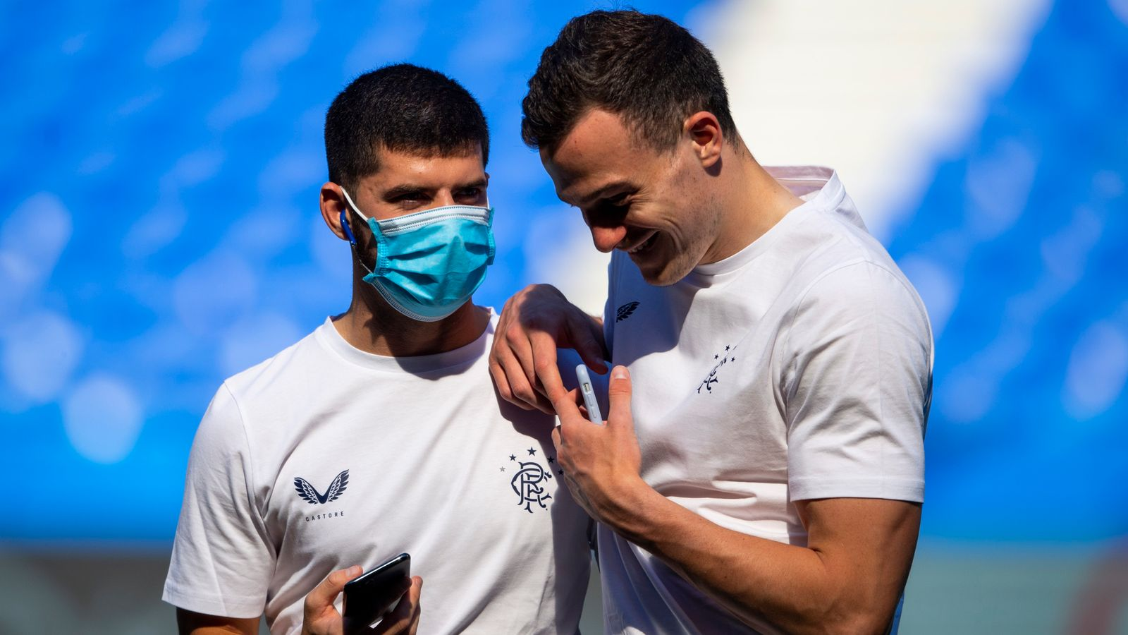 Rangers duo given seven-game bans
