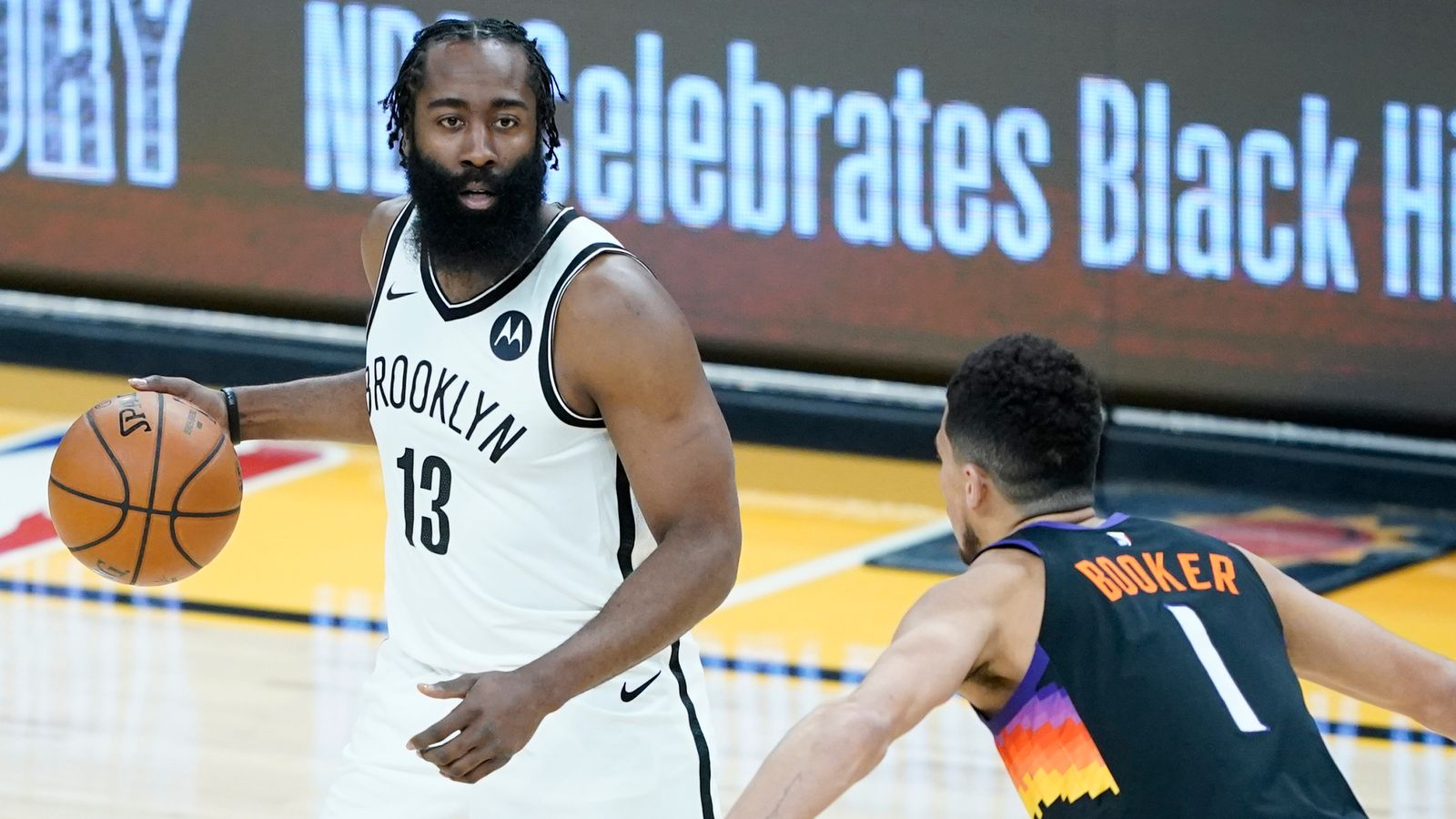 Harden leads Nets from 24
