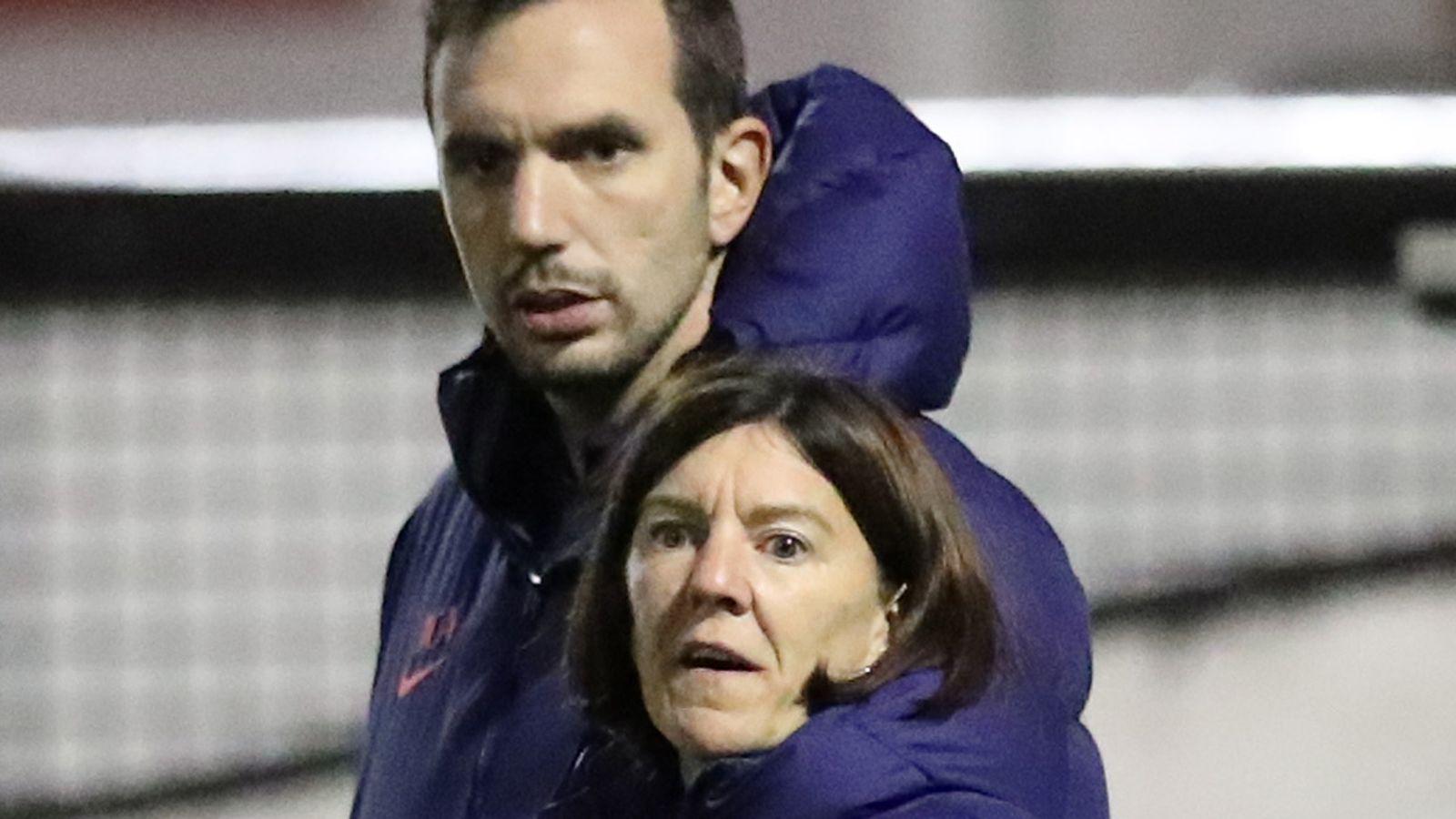Spurs Women sack joint head
