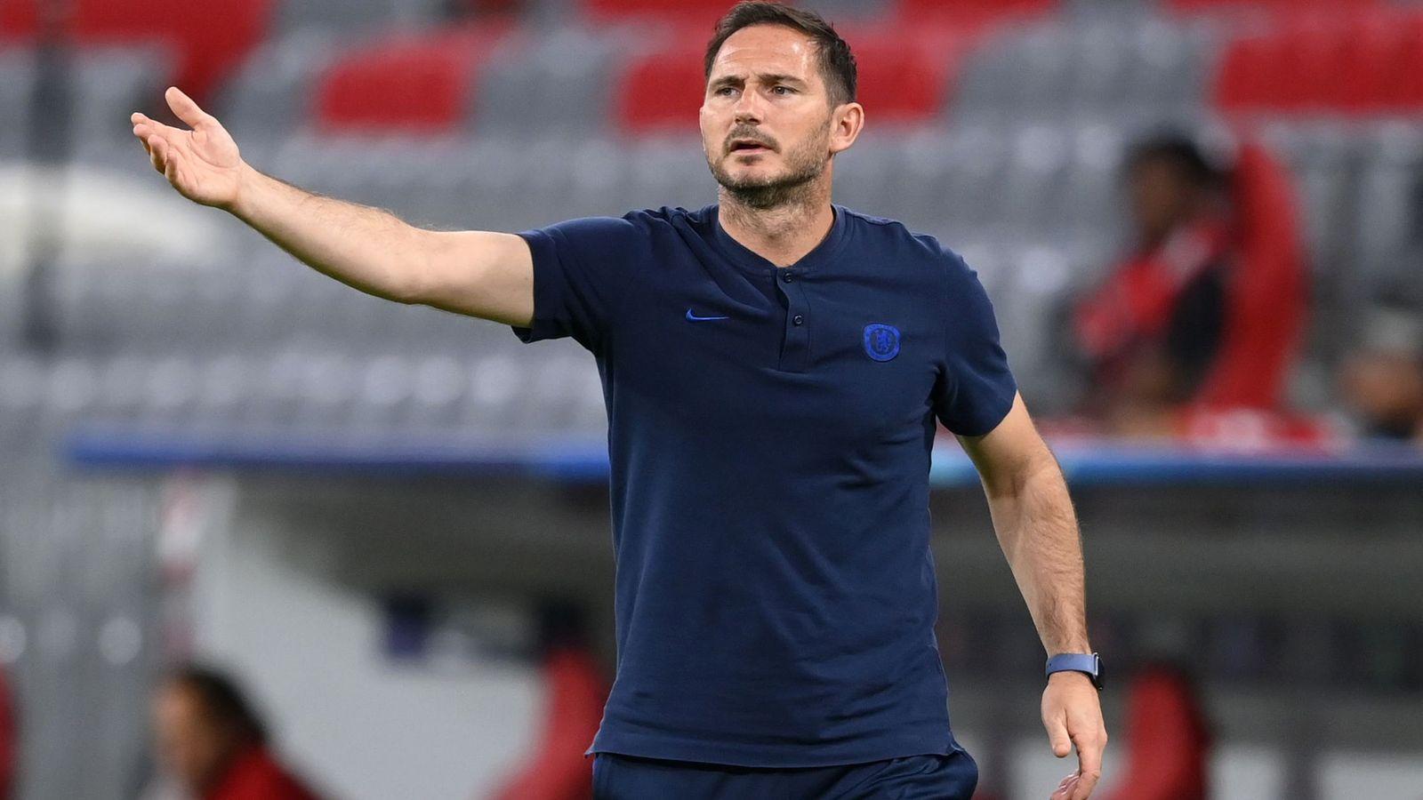 Lampard: Chelsea still a work