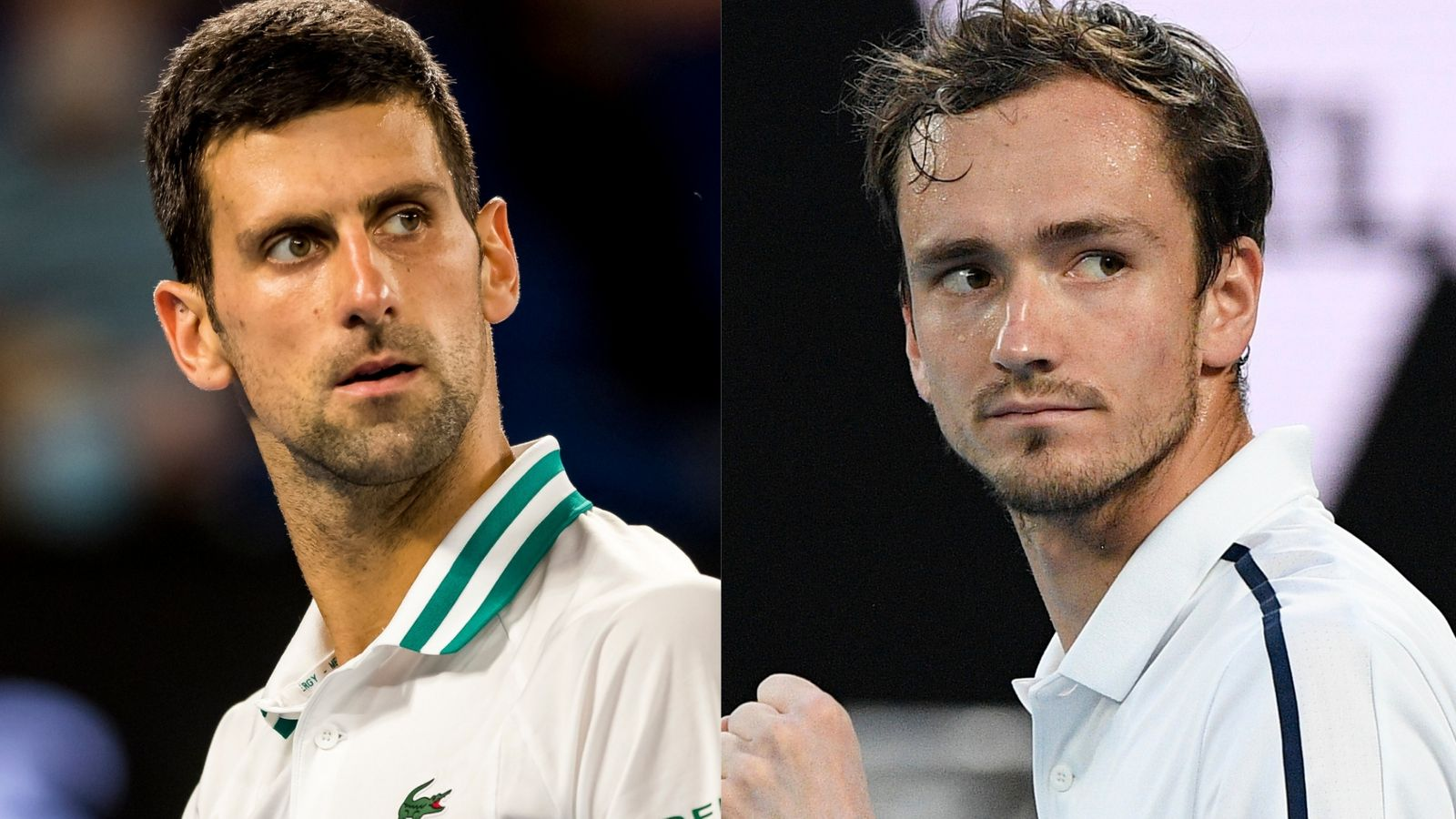 Djokovic vs Medvedev: Pressure on