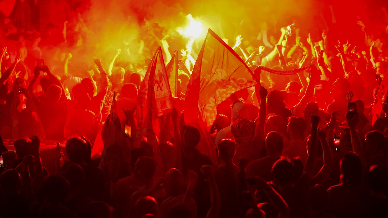 Liverpool fan gatherings 'wholly unacceptable'