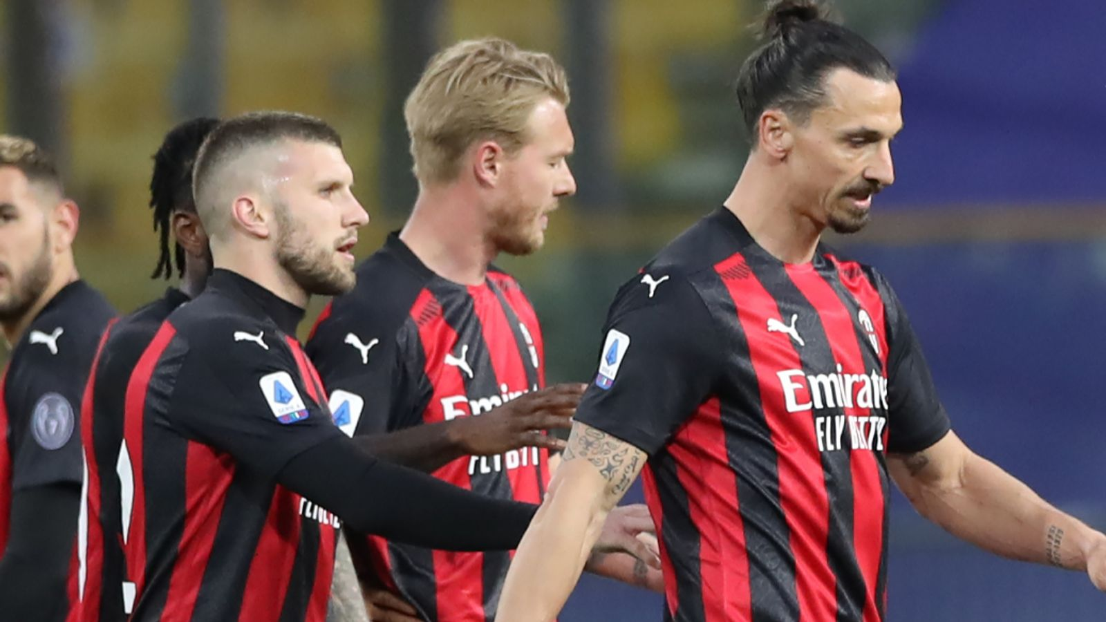 Euro: Ibrahimovic red after two
