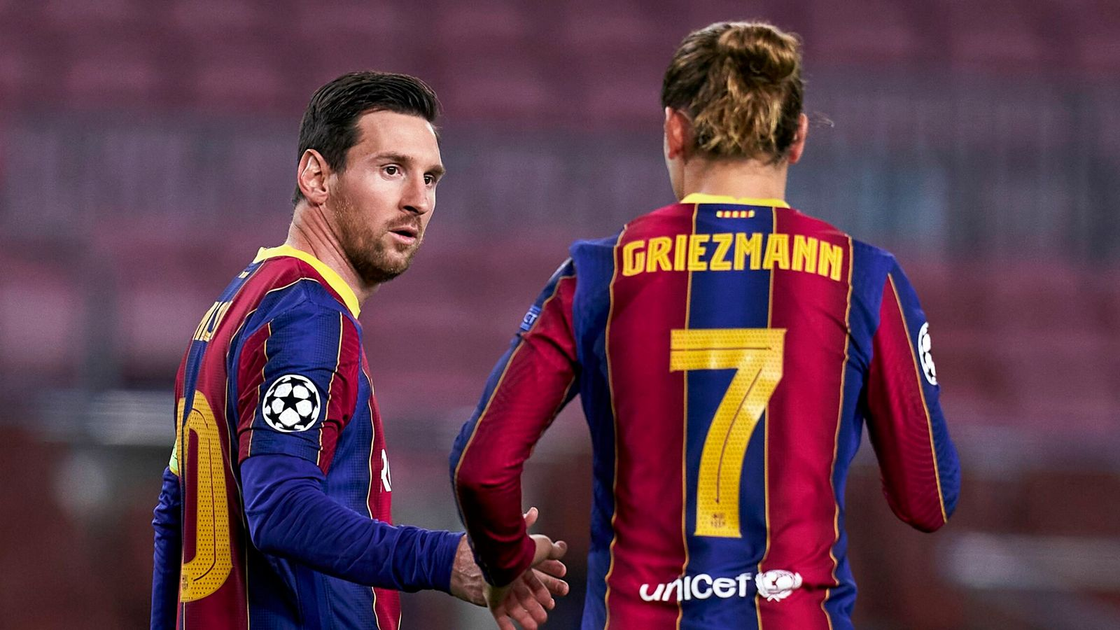 Griezmann denies Messi rift Antoine