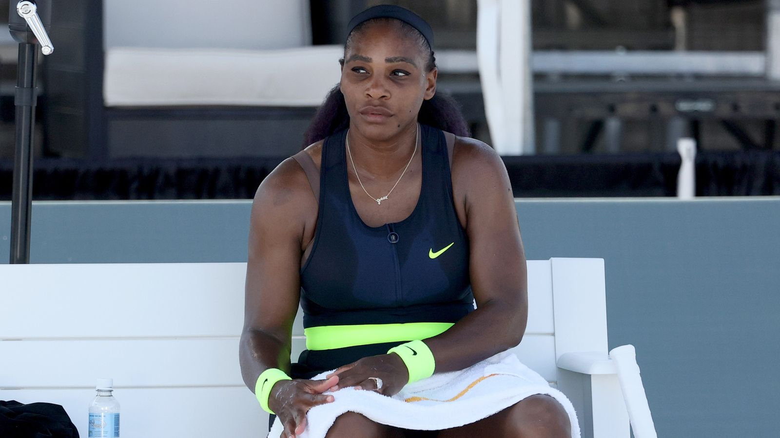 Serena shocked by Rogers in