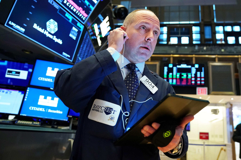 Stock futures slip after Trump
