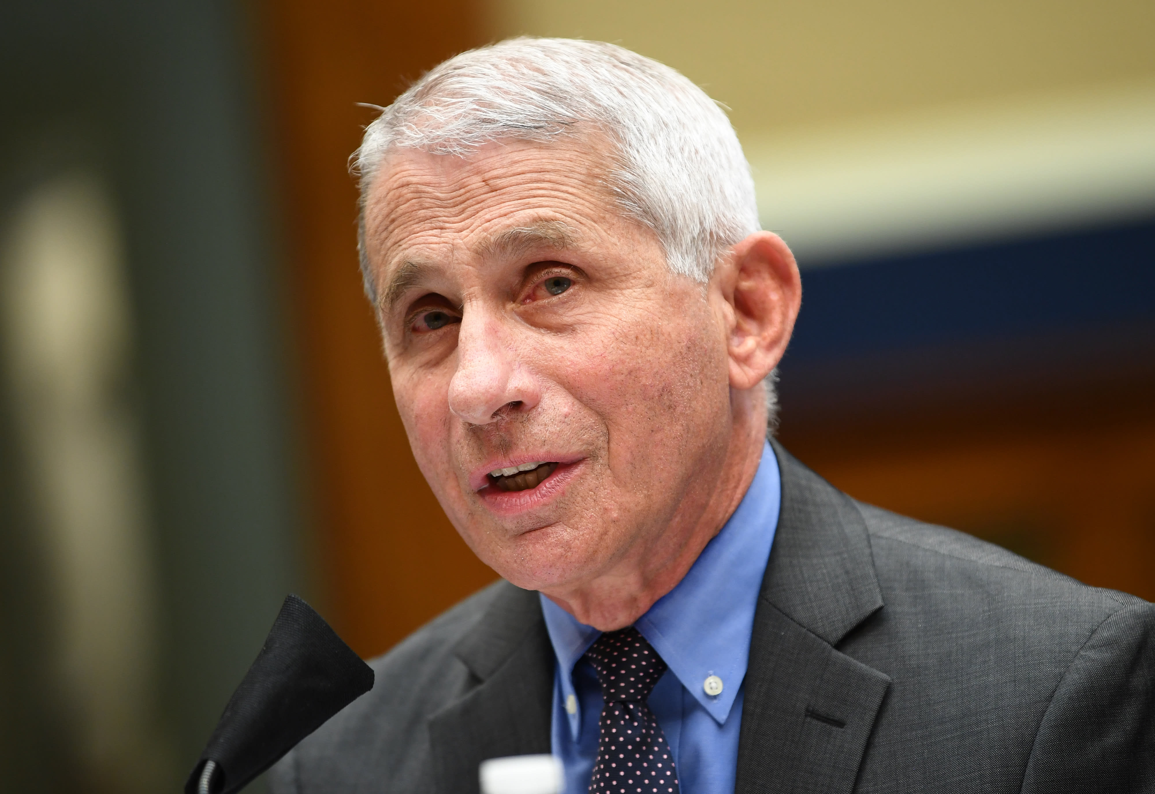 Dr. Anthony Fauci says chance