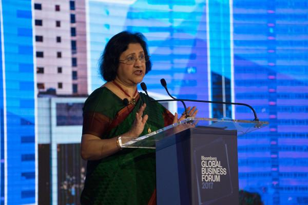 Salesforce hires former banker Arundhati