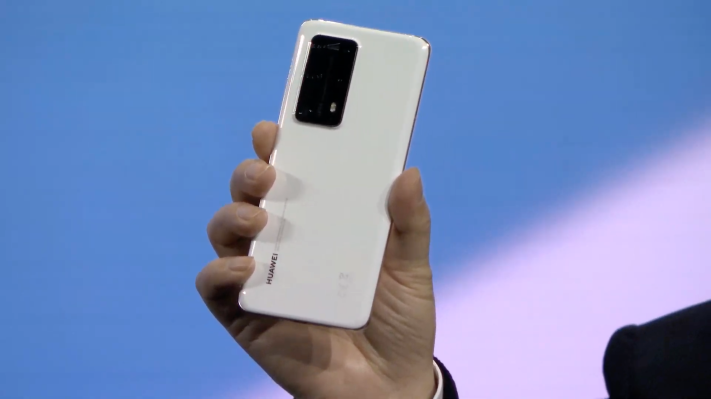 Huawei announces the P40 and