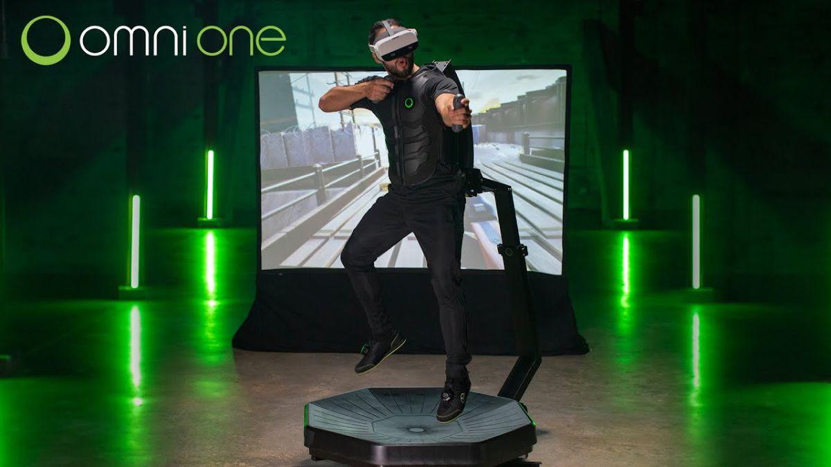 Omni One VR treadmill