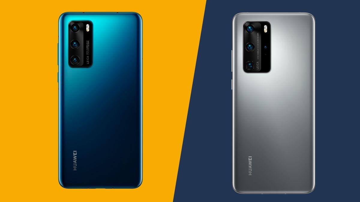 Huawei P40 vs Huawei P40