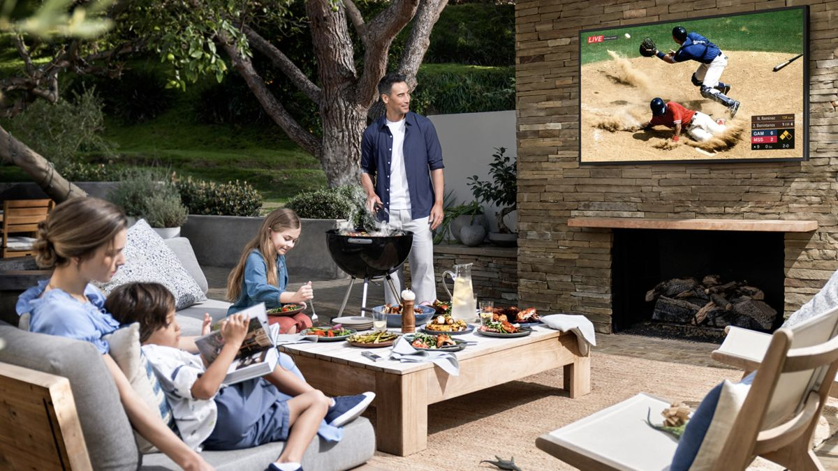 Outdoor TV vs outdoor