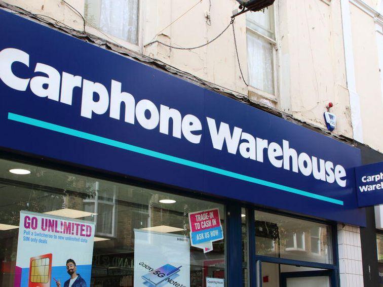 UK's Carphone Warehouse will close