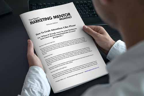 Tony Rush's Marketing Mentor Monthly
