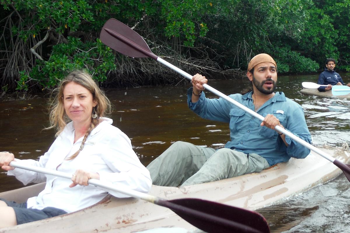Rw mexico field visit kayak