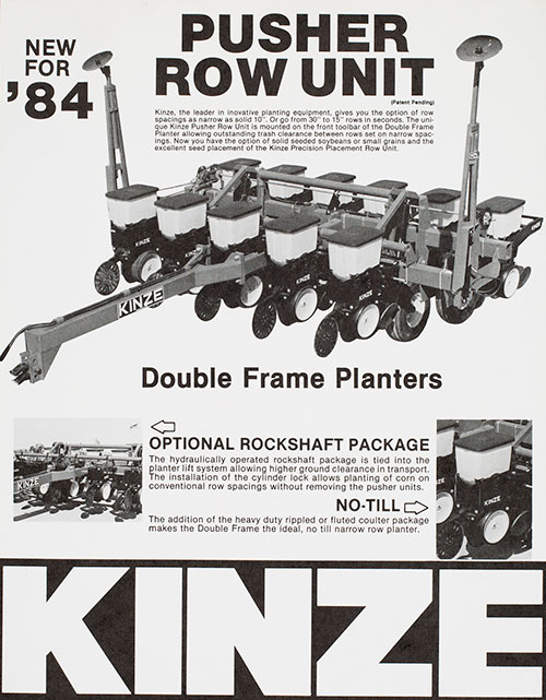 The 1980 S Split Rows And Pivoting Toolbars Kinze