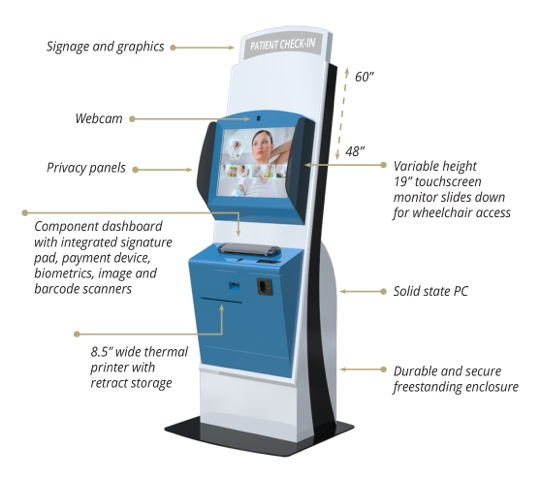Patient Check In Kiosk By Touchsource