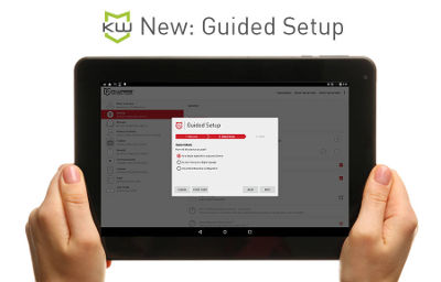Android Kiosk Software Lockdown Release by KioWare adds Guided Setup