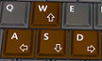 Game keyboard controls
