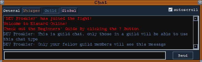 guild chat type