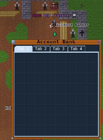 account bank, banker