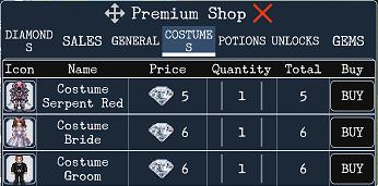 costumes, sprite