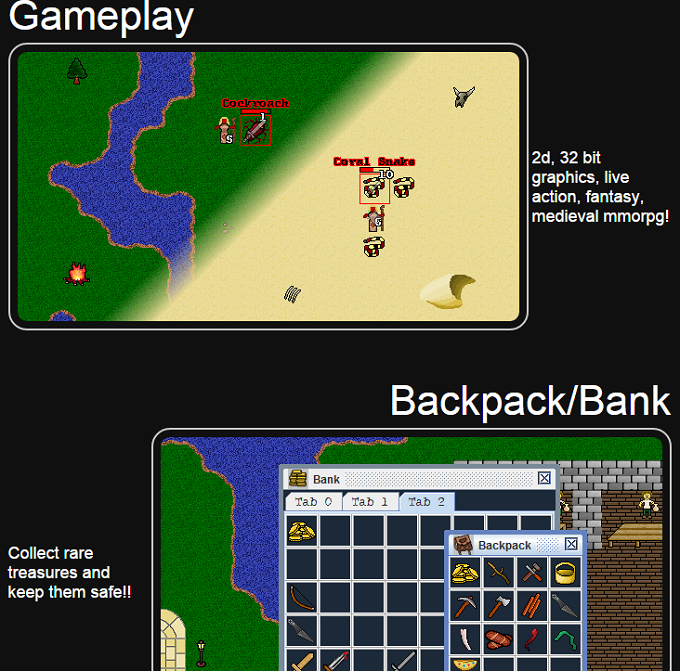 mmorpg gameplay features