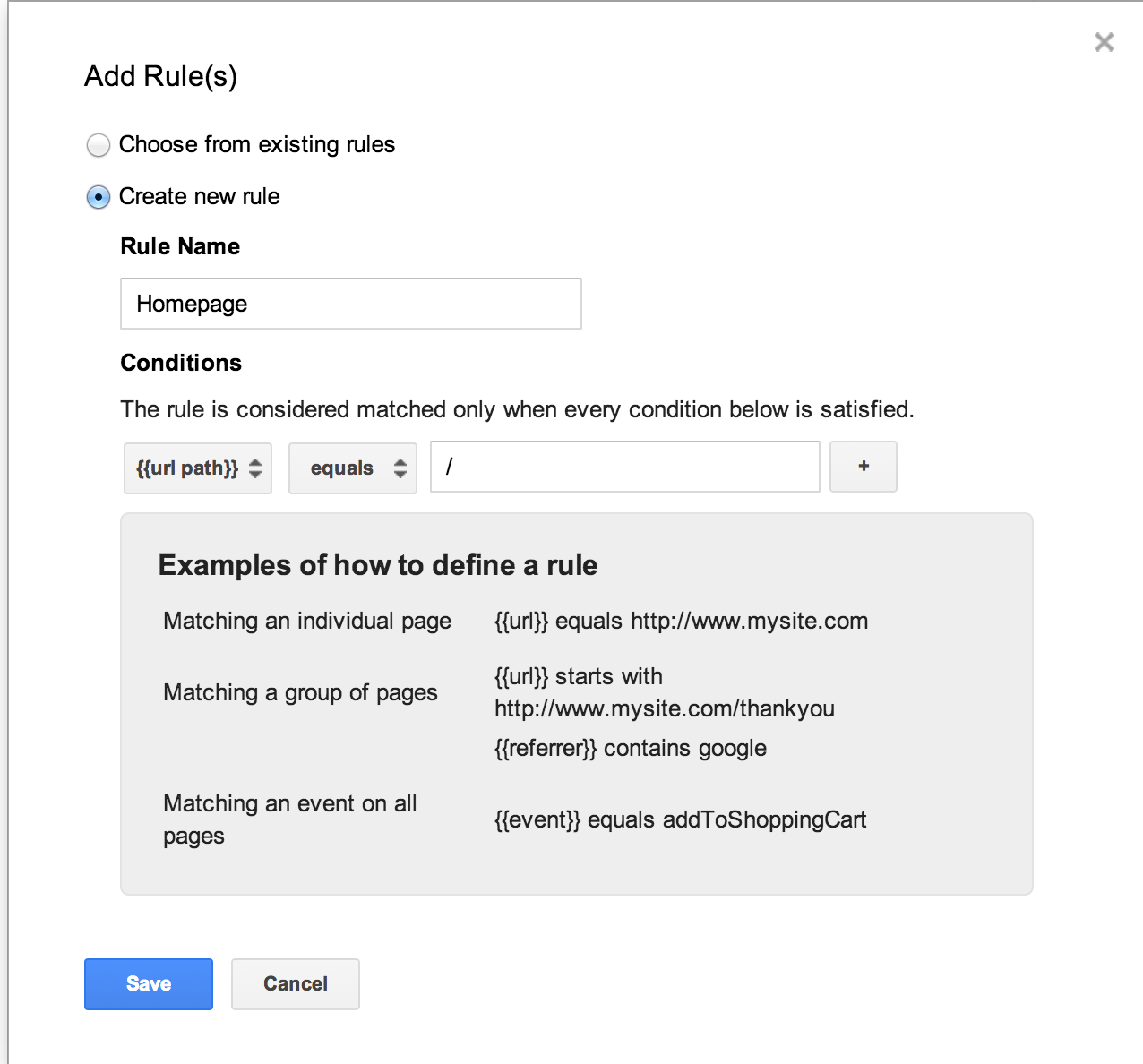 Kissmetrics - Installing Kissmetrics through Google Tag Manager