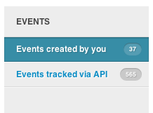 Event Categories