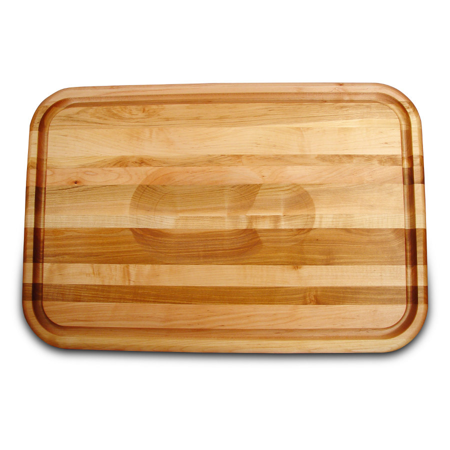 trenched out carving board