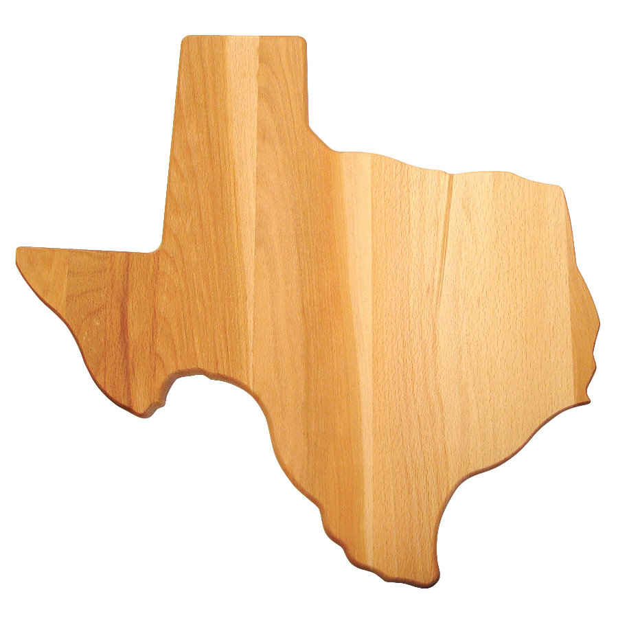 Cutting Board Shaped Like The State Of Texas