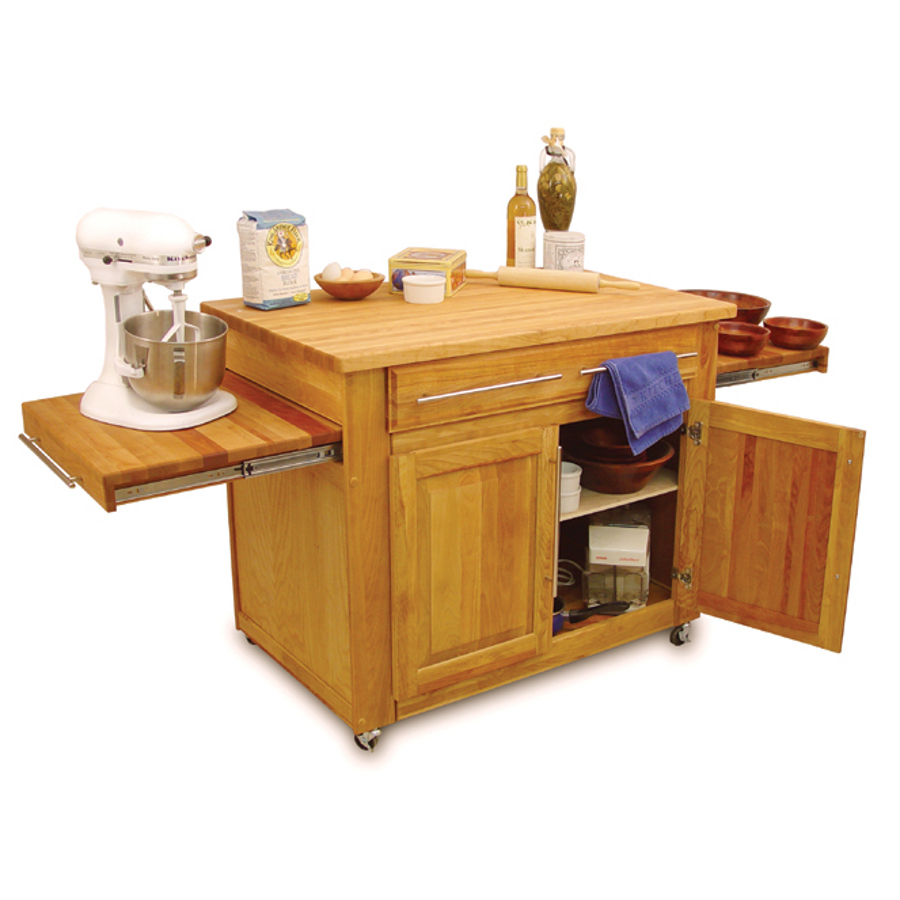Catskill empire kitchen island pull out leaves - Mobile kitchen island plans ...