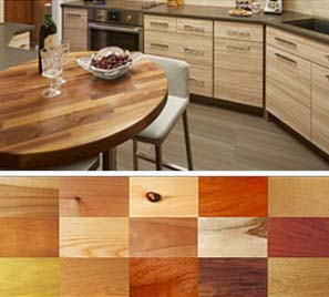 butcher block counters for design firms