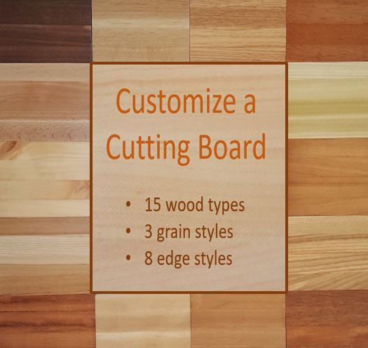 custom-sized cutting boards