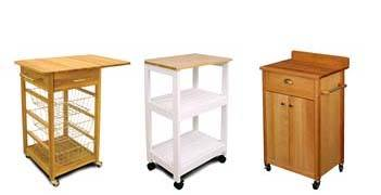 small kitchen carts