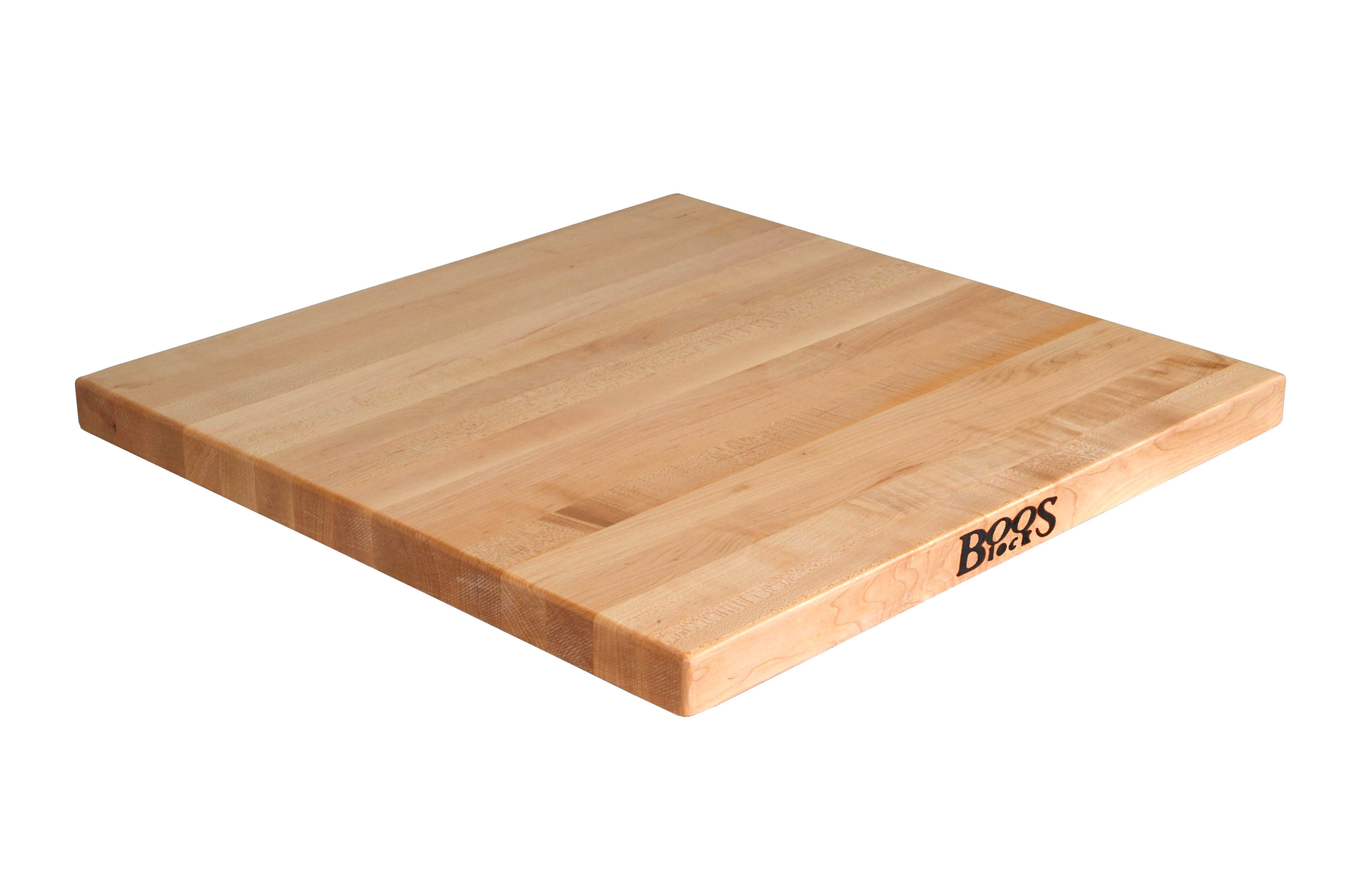 John Boos Maple Edge Grain Butcher Block Table Top