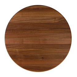 john boos round walnut edge butcher block table tops. Black Bedroom Furniture Sets. Home Design Ideas