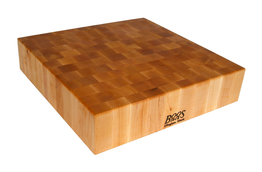 John Boos End-Grain Chopping Block - 6-Inches Thick, 4 Sizes