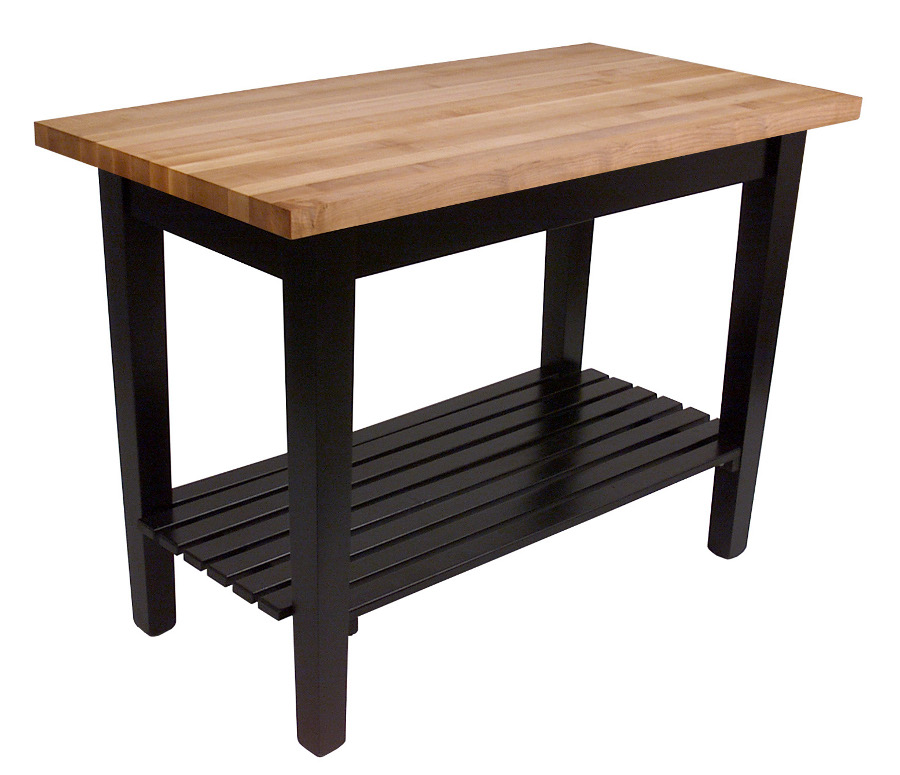 Country Kitchen Table: John Boos Classic Country Work Table