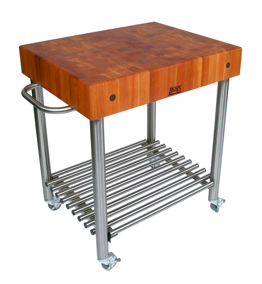 Butcher Block Kitchen Carts