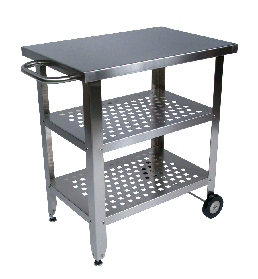 Stainless Kitchen Cart: John Boos Stainless Steel Kitchen & Barbecue Cart