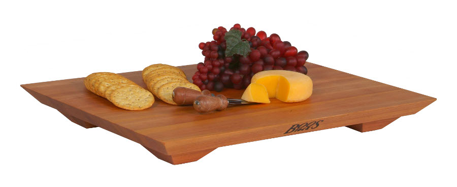 "John Boos 20"" x 15"" Cherry Fusion Cutting Board"