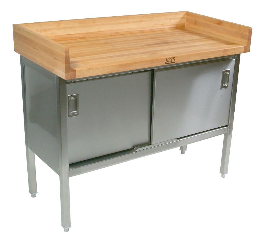 Baker S Table Bakery Prep Tables Bakers Carts